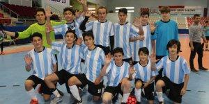 Erkek Futsal'da gözler finalde…