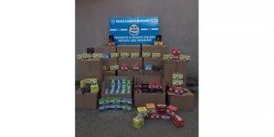 KOCAELİ'DE:  Kaçak sigara ve tütün operasyonu
