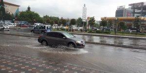 Yağmur Gebze'de etkili oldu