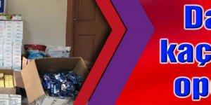 Darıca'da kaçak sigara operasyonu