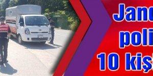 Jandarma ve polis aranan 10 kişiyi yakaladı