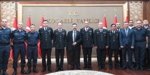 Jandarma'dan Aksoy'a ziyaret