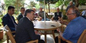 DİLOVASI: Şayir'den köylere ziyaret