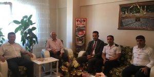 DİLOVASI:  Şehit alilerine ziyaret