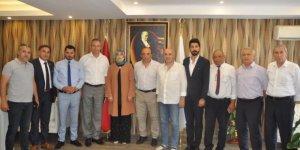 CHP Kaymakam  Karaman'la görüştü