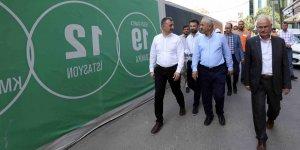 BÜYÜKAKIN GEBZE'DE KONUŞTU:''Metro inşaatı devam ediyor''