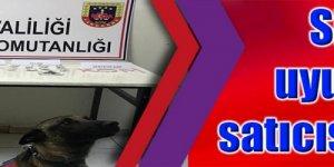 JANDARMADAN KAÇAMADI: Silah ve uyuşturucu satıcısı yakalandı