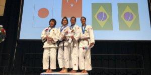 Görme engelli judocumuz yine zirvede