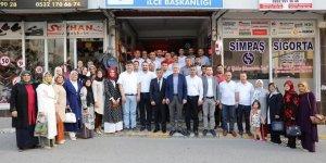 AK PARTİ: Ellibeş'ten ilçe ziyaretleri