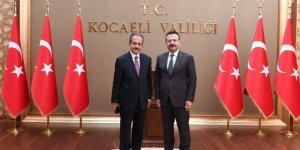 Yeni Müftü'den Aksoy'a ziyaret