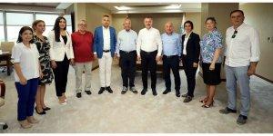 CHP İl Yönetimini konuk etti