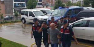 NATO petrol boru hattından mazot çalmaya kalkışan 5 kişiye gözaltı