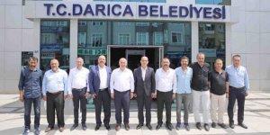 DARICA:  MHP'den Bıyık'a ziyaret