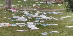 Piknik alanları çöplük gibi!
