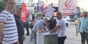 GEBZE: Yeniden Refah'tan  üye çalışması