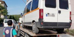 Korsan servis araçlarına ceza