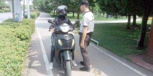 Motosiklet kullanımına sıkı denetim