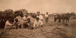 Eski Gebze'de harman yerinde mola
