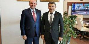 Şayir'den yoğun Ankara temasları