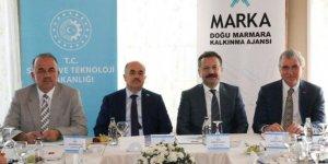 Vali Aksoy MARKA toplantısına katıldı