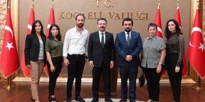İç Mimarlar'dan Vali Aksoy'a ziyaret