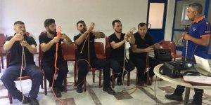 AFAD'dan 16 işyerinde afet eğitimi