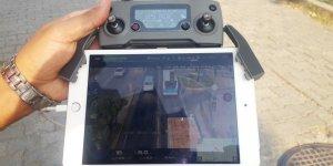 Sürücülere Drone ile ceza yağdı