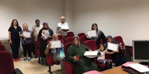 GEBZE FATİH DEVLET HASTANESİ: Diyabet Okulu mezun vermeye devam ediyor