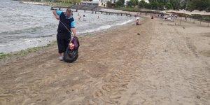 Plajlar her gün bakımdan geçiyor