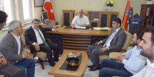 DİLOVASI: Şayir'den Emniyet Müdürü'ne ziyaret