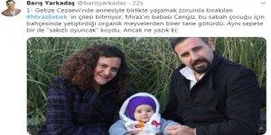 CHP ESKİ MİLLETVEKİLİ BARIŞ YARKADAŞ: Mirza bebek için alınan oyuncak çöpe atıldı!