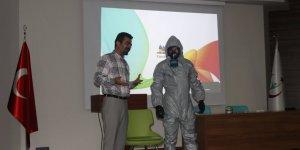 Gebze Fatih Devlet Hastanesinde KBRN Eğitimi