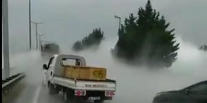 Gaz sızıntısı D-100'ü ulaşıma kapattı
