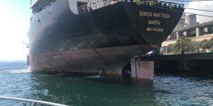 Körfezi kirleten gemiye 1 milyon 772 bin TL ceza