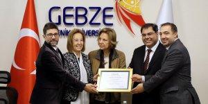 GTÜ'de Akademik Başarıya Bir Tescil Daha