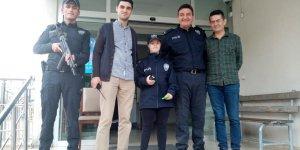 Neslinur'un polis olma hayali gerçek oldu