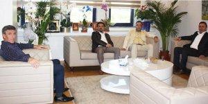Gebze'li başkanlardan Akyüz'e ziyaret