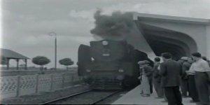 Kara tren  Gebze istasyonunda