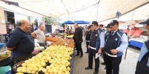 ÇAYIROVA:  Zabıta pazar denetimi yaptı