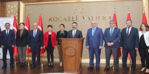 Vali Aksoy başarı belgesi verdi