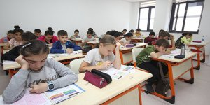 Deneme sınavına katıldılar