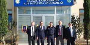 Jandarma'ya teşekkür etti