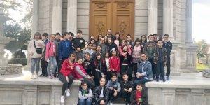 Özel Yeni Atlas Okulu'ndan Dolmabahçe gezisi