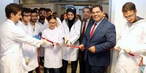 GTÜ'de kimya laboratuvarı açılışı
