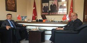 Kaymakam'dan MHP ziyareti