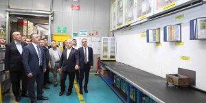 Başkan Büyükakın Gebze'de fabrika ziyareti yaptı