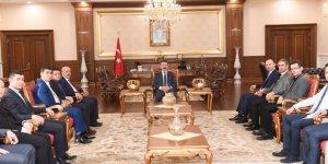 Türk Eğitim-Sen'den ziyaret