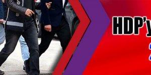 HDP'ye operasyon: 21 gözaltı