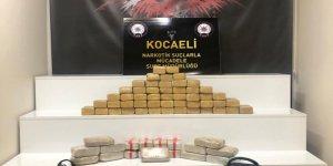 35 kilo 785 gram eroin ele geçirildi