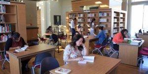 Kütüphaneyi 110 bin kişi ziyaret etti
